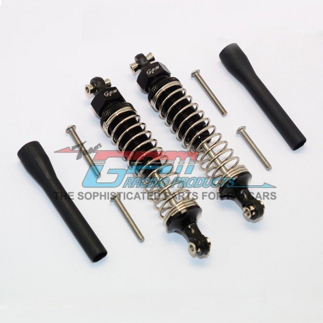 TRAXXAS TRX4 TRAIL CRAWLER Aluminum Front/Rear Adjustable Spring Dampers - 8pc set - GPM TRX4090