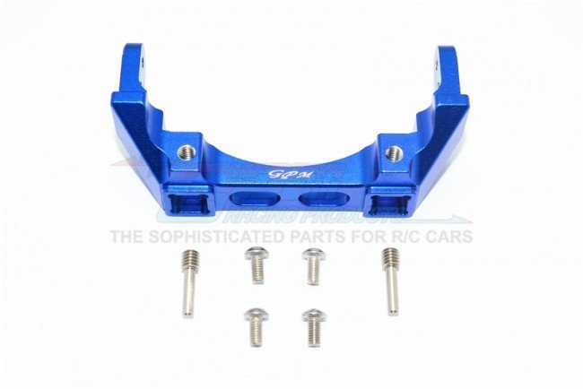TRAXXAS TRX4 TRAIL CRAWLER Aluminium Rear Bumper Mount -7pc set - GPM TRX4331R
