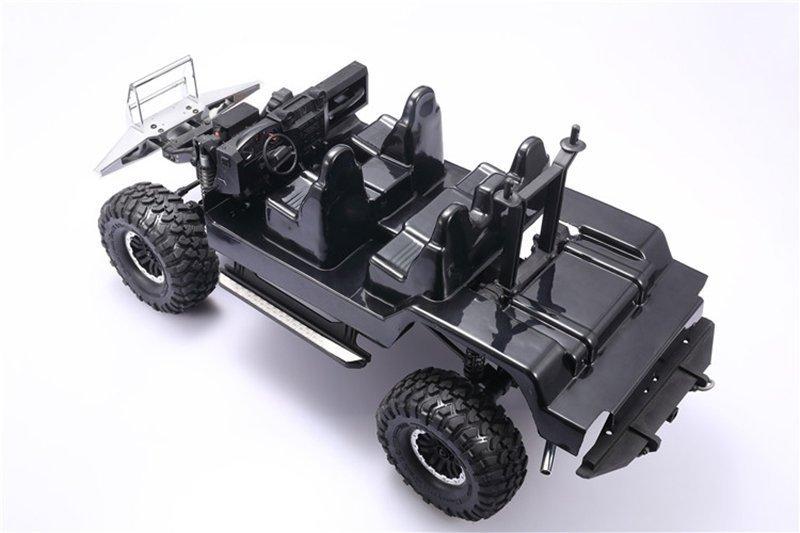 TRAXXAS TRX4 TRAIL CRAWLER Interior For TRX-4 Defender/D110 - 8pc set - GPM  TRX4ZSP48