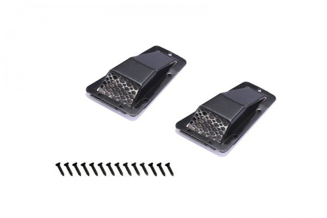 TRAXXAS TRX4 TRAIL CRAWLER Metal Fender Vent (Style A) - 16pc set - GPM ZSP042