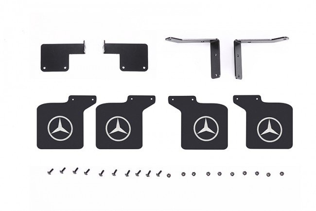 TRAXXAS TRX4 MERCEDES-BENZ Mud Flap - 28pc set - GPM TRX4ZSP65C