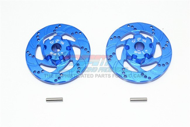 TRAXXAS UNLIMITED DESERT RACER Aluminum +1mm Hex With Brake Disk - 4pc set - GPM UDR010D+1MM
