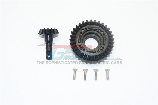 TRAXXAS UNLIMITED DESERT RACER Harden Steel #45 Front Differential Ring Gear & Pinion Gear - 6pc set - GPM UDR1200SF