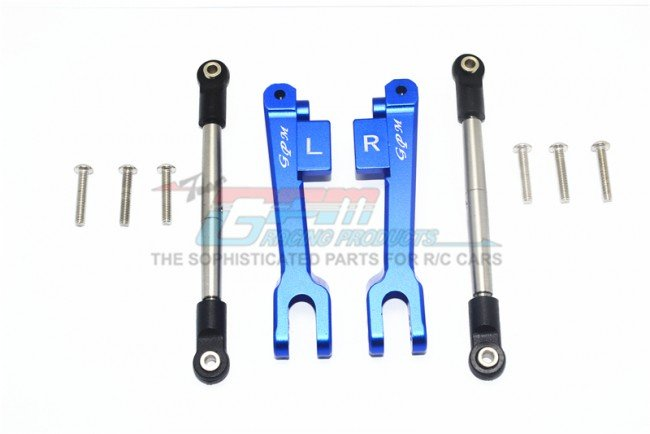 TRAXXAS UNLIMITED DESERT RACER Aluminum Rear Sway Bar & Stainless Steel Linkage - 10pc set - GPM UDR312RS