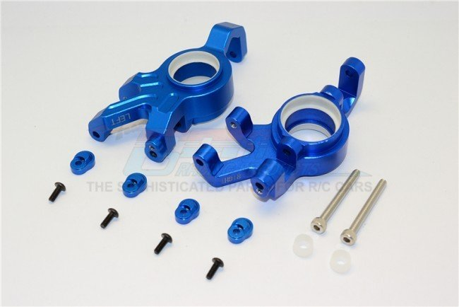 TRAXXAS X-MAXX Aluminum Front Knuckle Arms With Collars 14pc set - GPM TXM021N