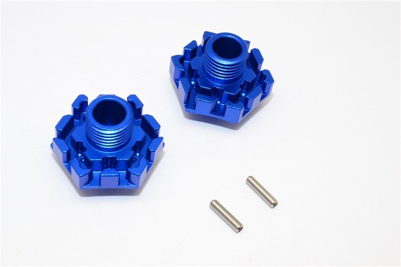 TRAXXAS Xo-1 Aluminium Wheel Hex Claw (0mm) - 2pcs - GPM XO006