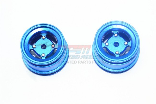 X-RIDER 1/8 FLAMINGO Aluminum 4 Lug Rear Rim - 2pc set - GPM FL8894W