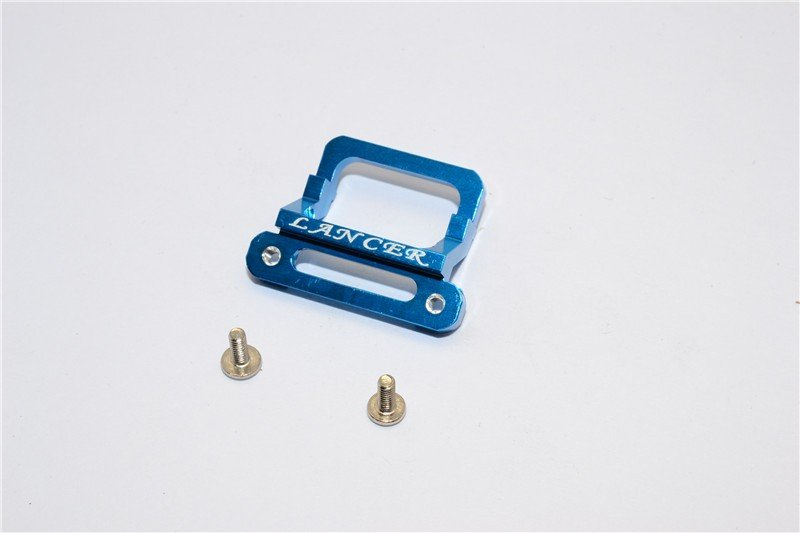XMods Evolution (Touring) Alloy Front Body Lock Plate With Screws (For Lancer) - 1pc set - GPM XME330LAN